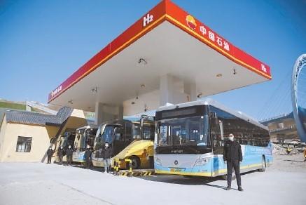 冬奥会首座加氢站投用 将服务上千辆赛事保障车辆