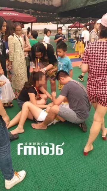 福州一游乐项目发生事故 10岁女孩从5米处坠下