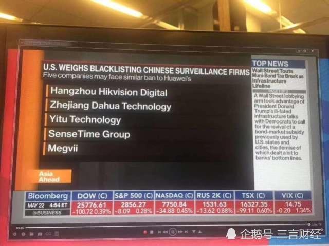 美考虑将更多中国公司列入禁令名单,科大讯飞