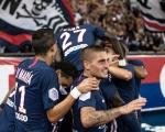 法甲-大巴黎4-0胜图卢兹 锋霸2球卡瓦尼姆巴佩伤退