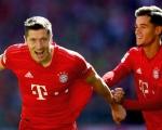 德甲-库蒂尼奥处子球拜仁4-0横扫科隆 莱万梅开二度