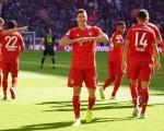 德甲综述-拜仁4球横扫科隆 10人莱比锡大胜仍居首