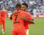 法甲-大巴黎1-0小胜波尔多 姆巴佩助攻内马尔破门