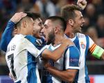 欧联杯-武磊破门创历史!西班牙人客场2-0力擒中央陆军