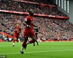 英超-利物浦2-1莱斯特跨季17连胜 马内破门米尔纳点射绝杀