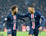 法甲-大巴黎2-0胜南特联赛3连胜 姆巴佩脚后跟破门