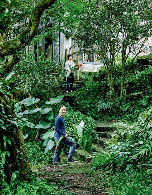 理工男放弃3000平米的家,住进深山与花草相伴,刘若英都羡慕