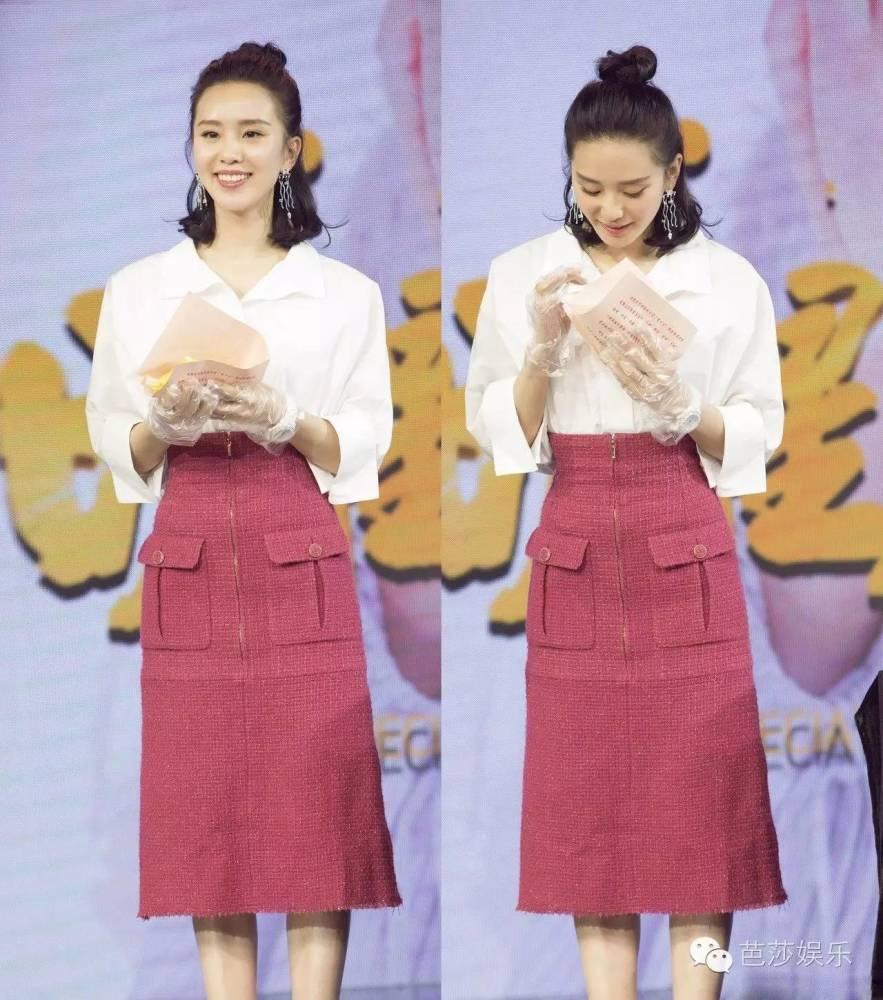 刘诗诗一夜长高10公分,秘密就藏在她的裹身裙里!