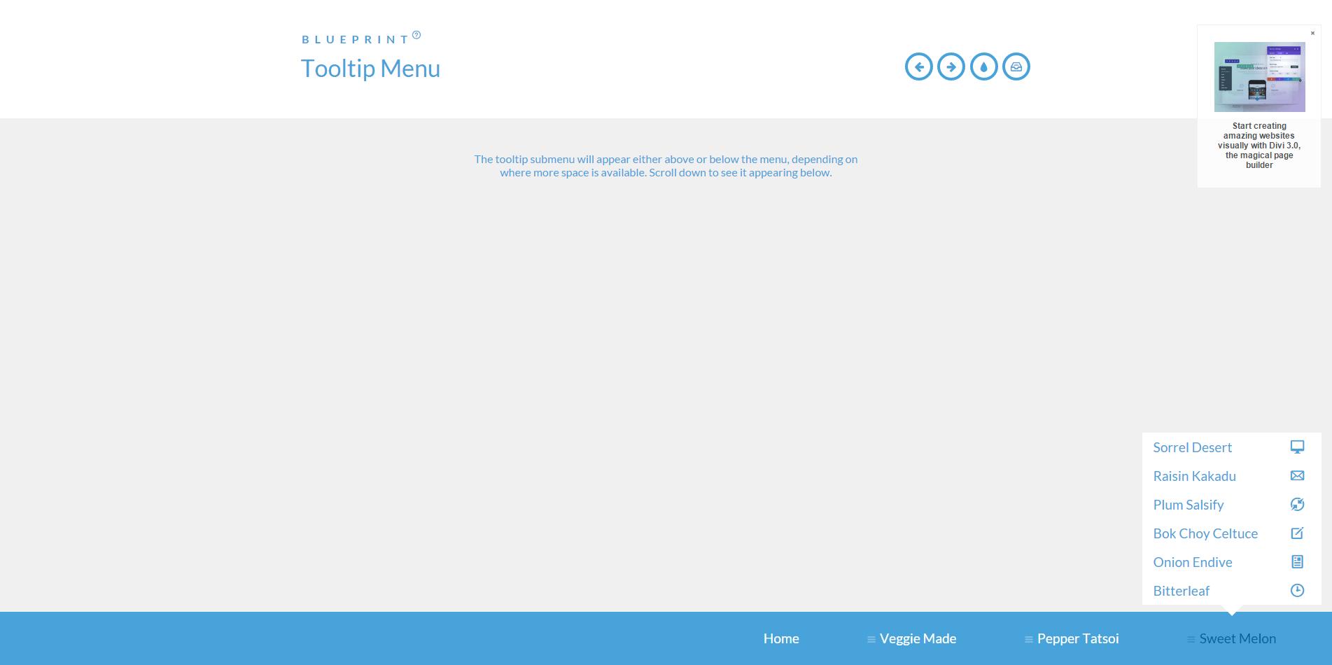 提示菜单-Tooltip Menu
