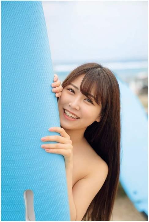 性感美貌于一身的akb48成员美少女白间美瑠(しろま みる)性感写真