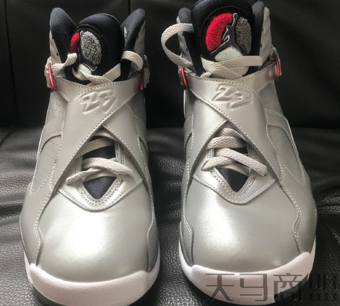 AJ8反射银发售信息 AJ8 Reflect Silver鞋面3m反光好看吗