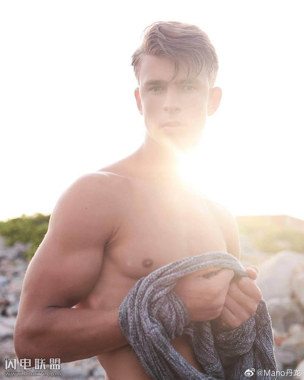欧美性感肌肉男模帅哥大胆写真照片