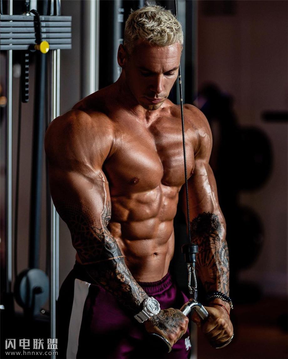 欧美健身肌肉帅哥图片