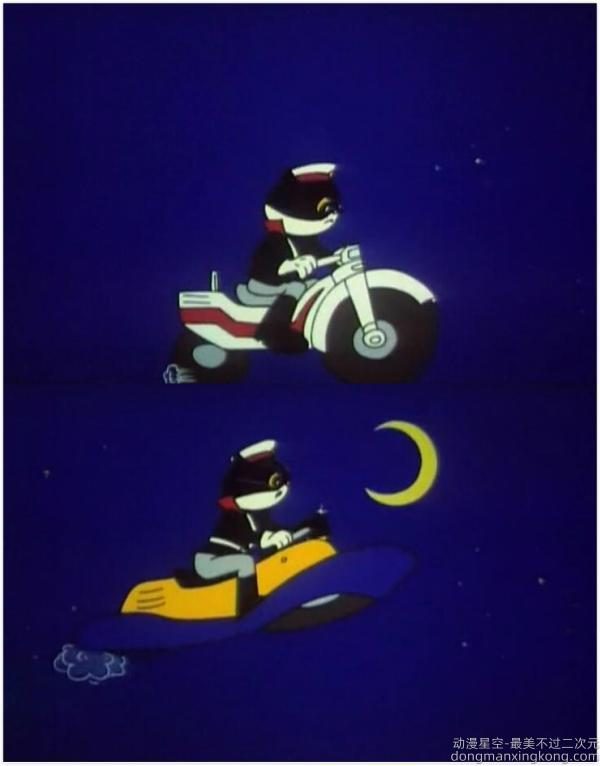 《黑猫警长》:预言未来高科技的神奇动画