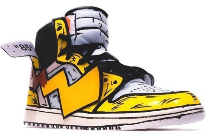 OFF-WHITE™ X AIR JORDAN 1 亮相《POKÉMON: DETECTIVE PIKACHU》