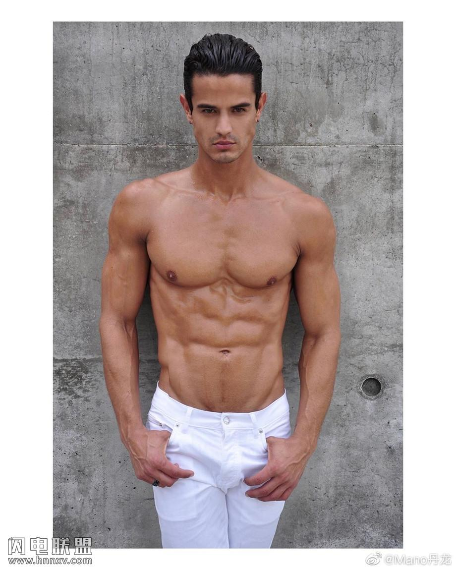 欧美肌肉酷男帅哥照片