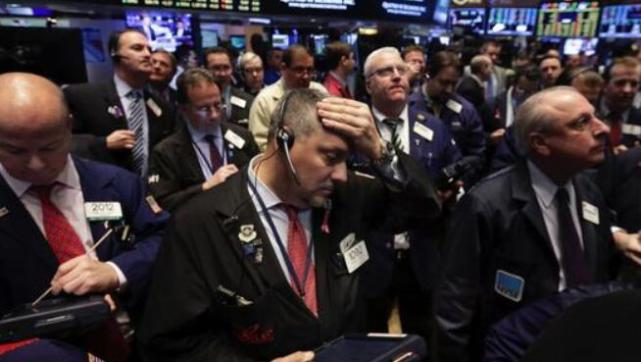 U.S. stocks fell sharply and retailers were busy