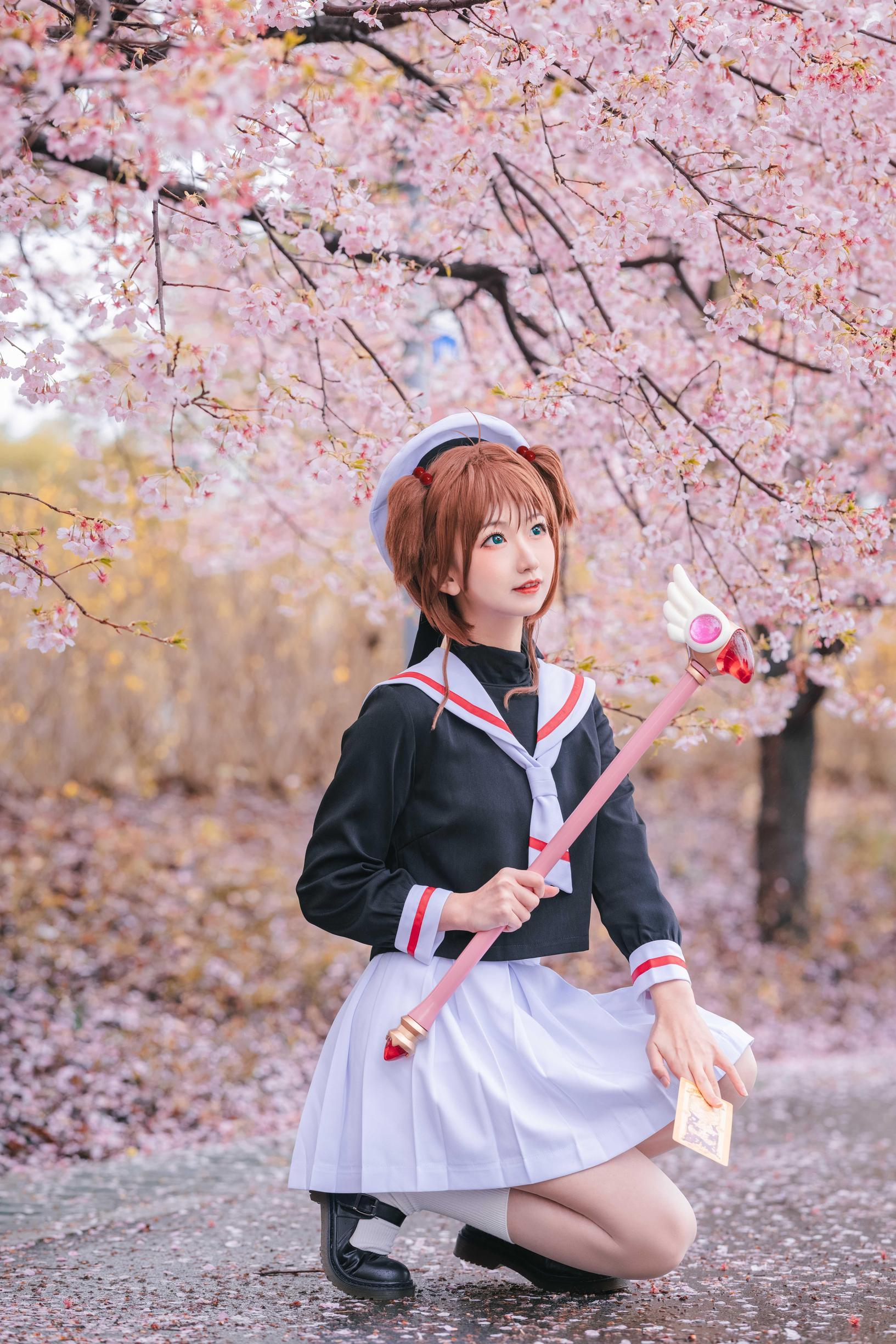 《魔卡少女樱》战士cosplay【CN:风眠眠w】-第15张