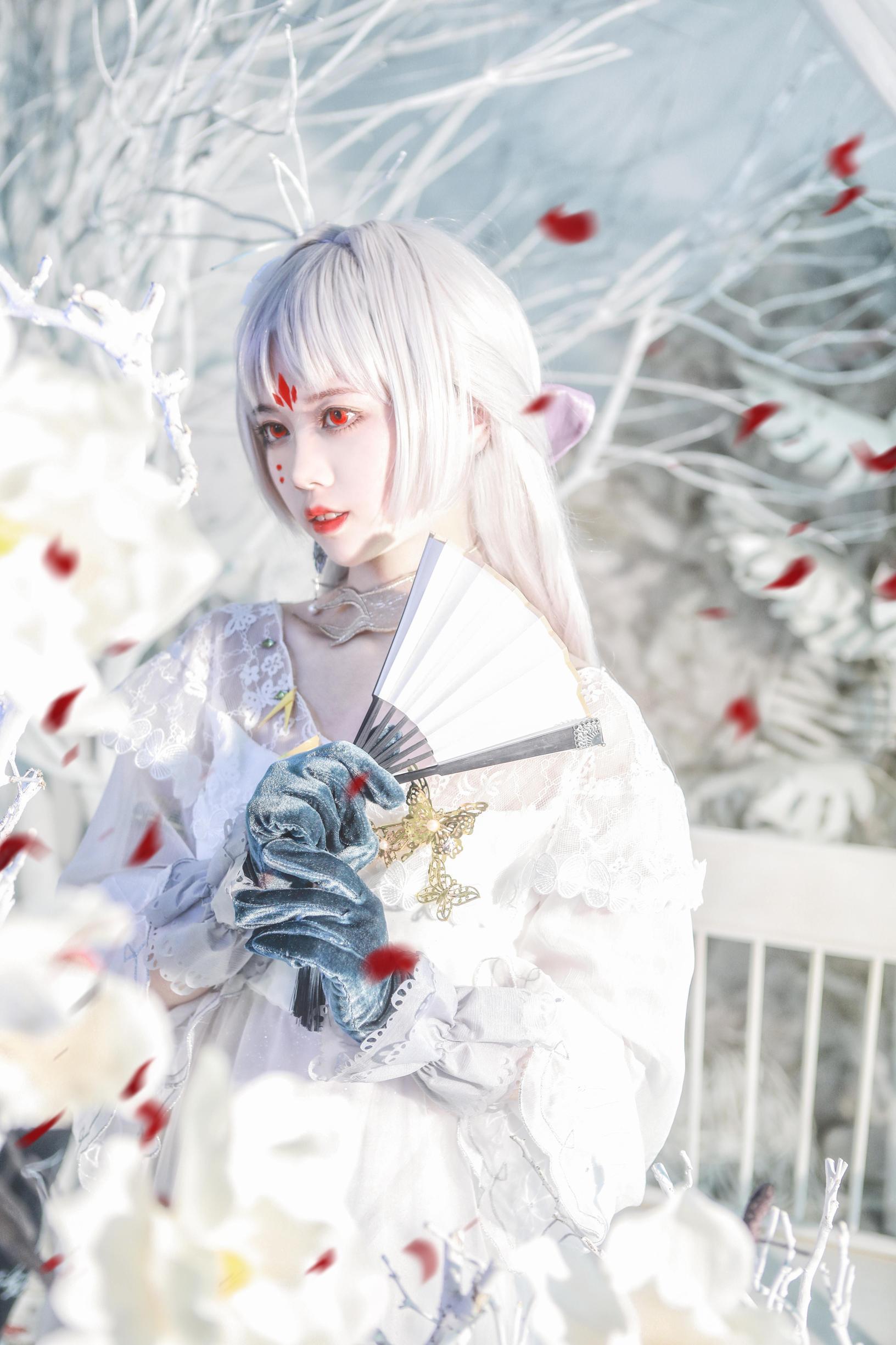 《阴阳师手游》正片cosplay【CN:桃溪不爱喵】-第4张